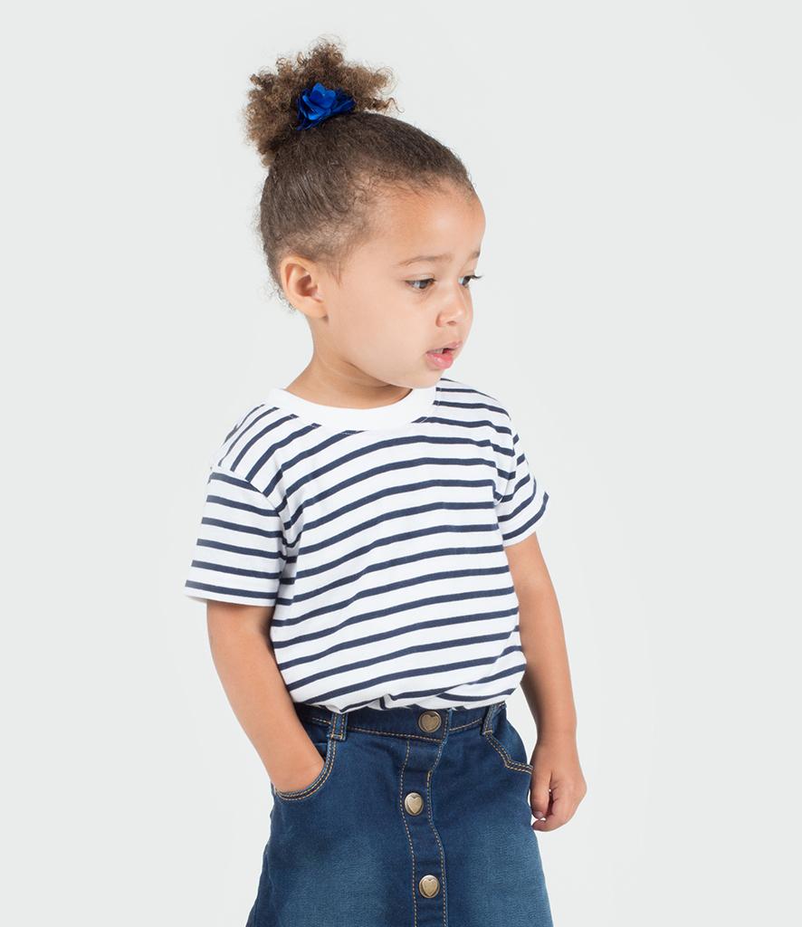 fee7e7750 Larkwood Baby/Toddler Striped Crew Neck T-Shirt