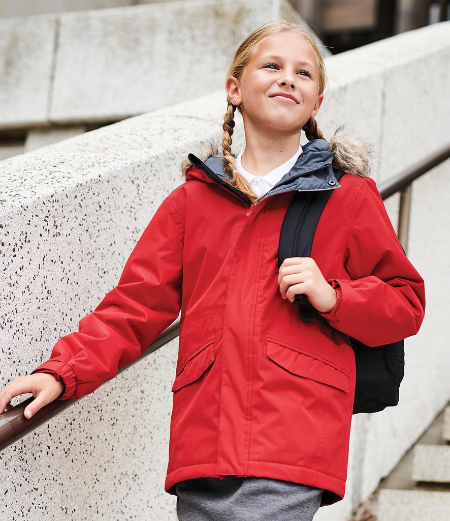 RESULT CORE KIDS CHILDRENS WINTER PARKA JACKET COAT RS207B
